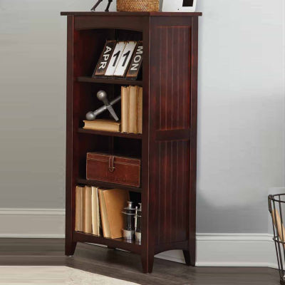 """48"""" 3 Shelf Shaker Cottage Bookcase"""