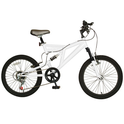 Cycle Force 7-Speed Dual Suspension Kid's Mountain Bike