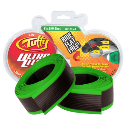 Mr. Tuffy Ultra Lite Bicycle Tire Liner (Green) 20 x 1.95-2.5