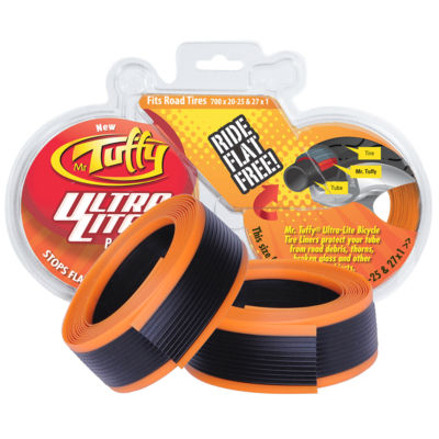 Mr. Tuffy Ultra Lite Bicycle Tire Liner (Orange) 700 x 20-25 or 27 x 1