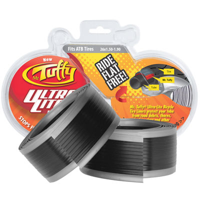 Mr. Tuffy Ultra Lite Bicycle Tire Liner (Silver) 26 x 1.5-1.9