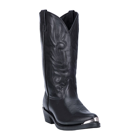 Laredo Mens Mccomb Block Heel Wide Width Cowboy Boots