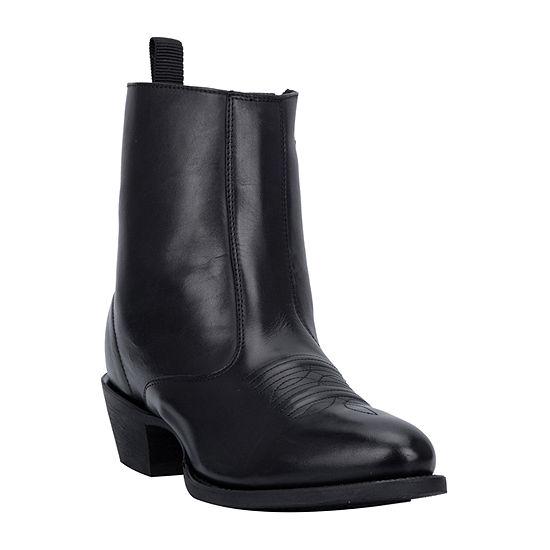 Laredo Mens Fletcher Block Heel Cowboy Boots