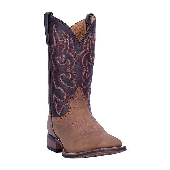 Laredo Mens Lodi Cowboy Boots Block Heel