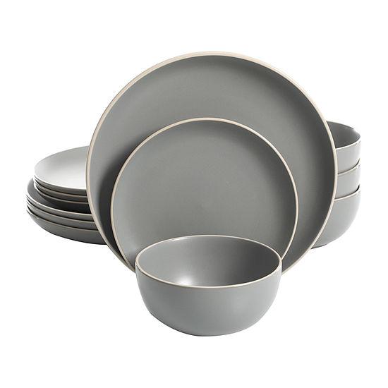 Gibson Rockaway 12-pc. Dinnerware Set