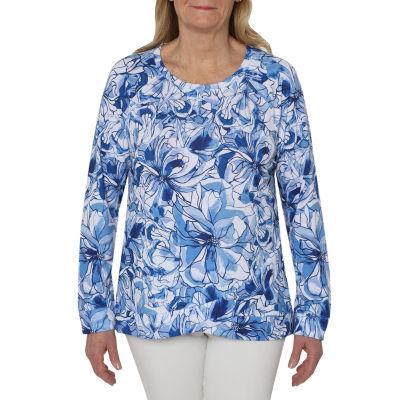 Cathy Daniels Weekend Brunch-Womens Crew Neck Long Sleeve T-Shirt