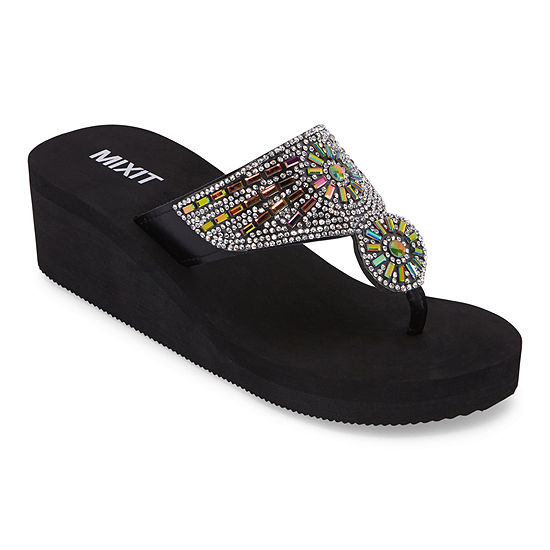 Mixit Womens Wedge Sandals