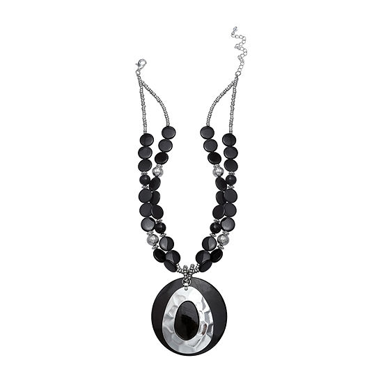 Mixit Shell 17 Inch Pendant