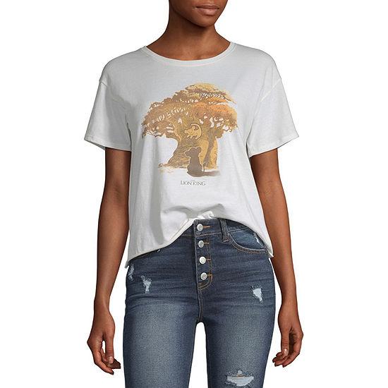 Juniors Lion King  Short Sleeve Graphic T-Shirt