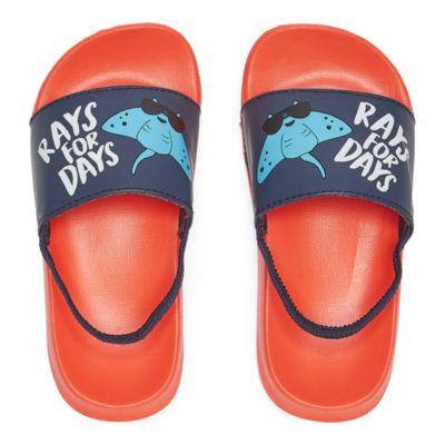Okie Dokie Boys Slide Sandals