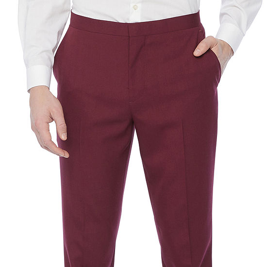 JF J.Ferrar Mens Stretch Super Slim Fit Tuxedo Pants