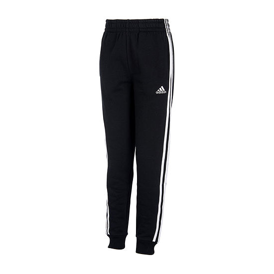 adidas Toddler Boys Mid Rise Cuffed Jogger Pant