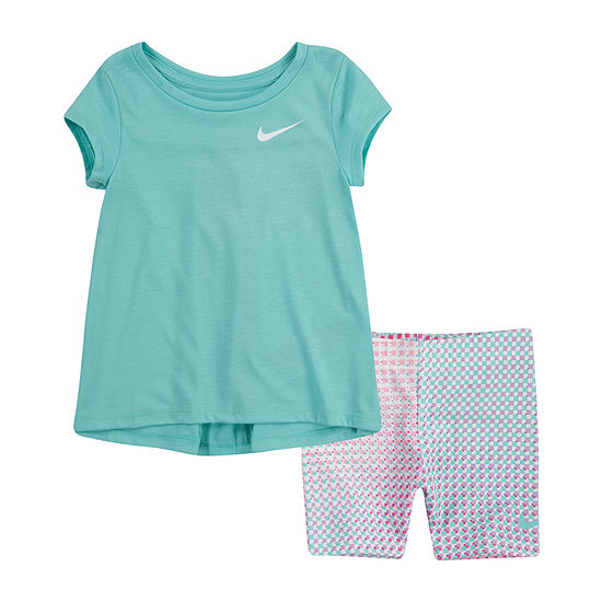 Nike Toddler Girls 2-pc. Short Set