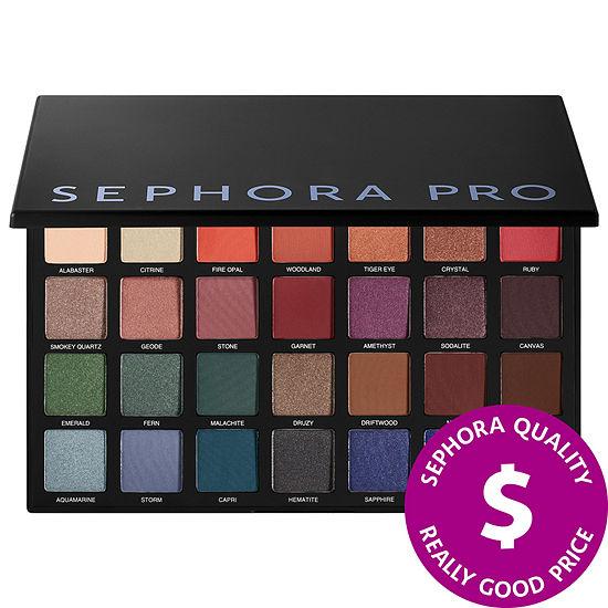 SEPHORA COLLECTION Sephora PRO Smokey Jewels Palette