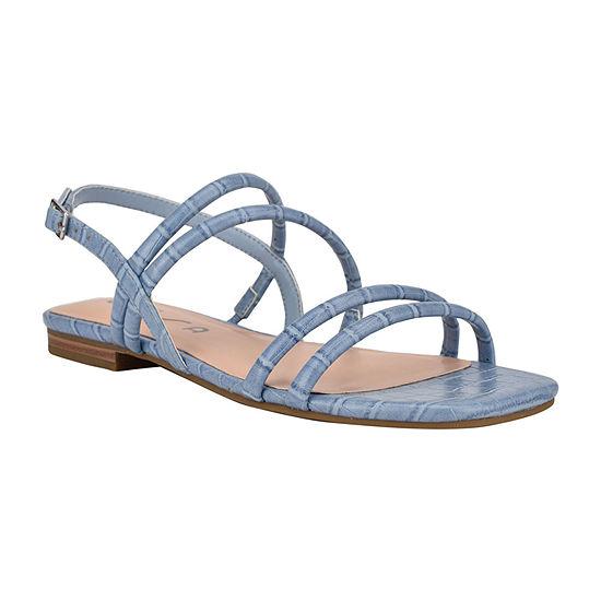 Unisa Womens Salamn Adjustable Strap Flat Sandals