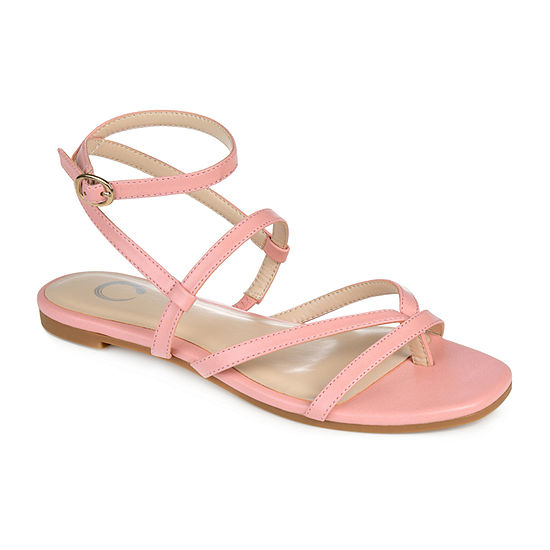 Journee Collection Womens Serissa Flat Sandals
