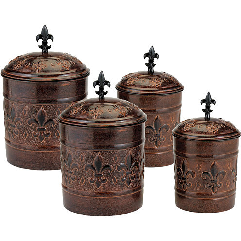 Old Dutch International® Versailles 4-pc. Canisters