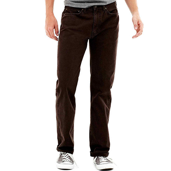 Dockers® 5 Pocket Straight-Fit Flat-Front Pants
