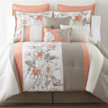 jcpenney.com | Home Expressions™ Grace 10-pc. Comforter Set & Accessories
