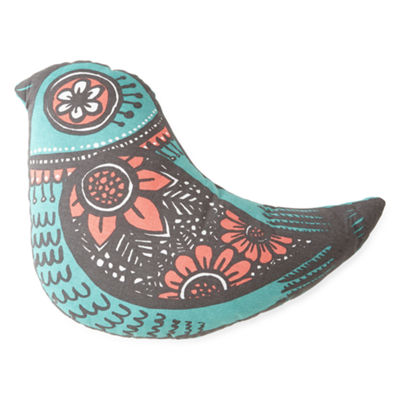 Home Expressions™ Bird-Shaped Decorative Pillow