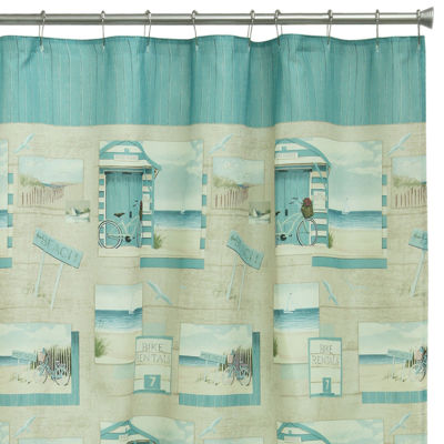 Bacova Beach Cruiser Shower Curtains