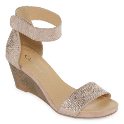 CL by Laundry Womens Harmoni Wedge Sandals
