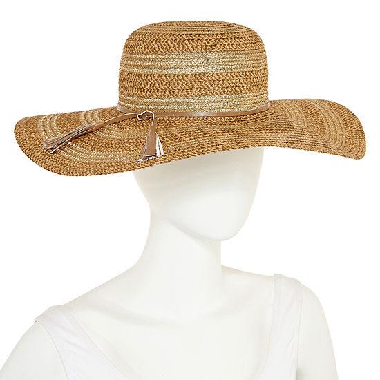 August Hat Co Inc Metallic Floppy Hat