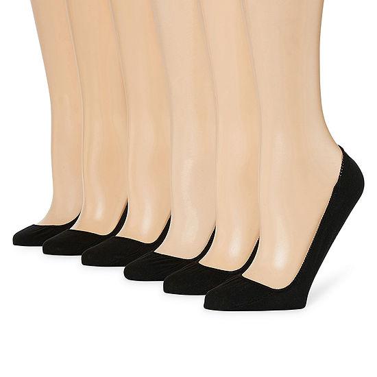Mixit 6 Pair Knit Liner Socks - Womens