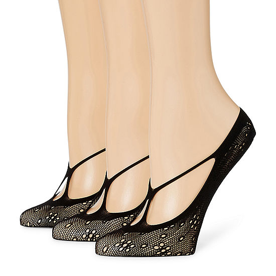 Mixit 3 Pair Liner Socks - Womens