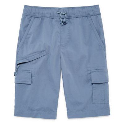 Arizona Woven Cargo Shorts Boys 4-20, Slim & Husky