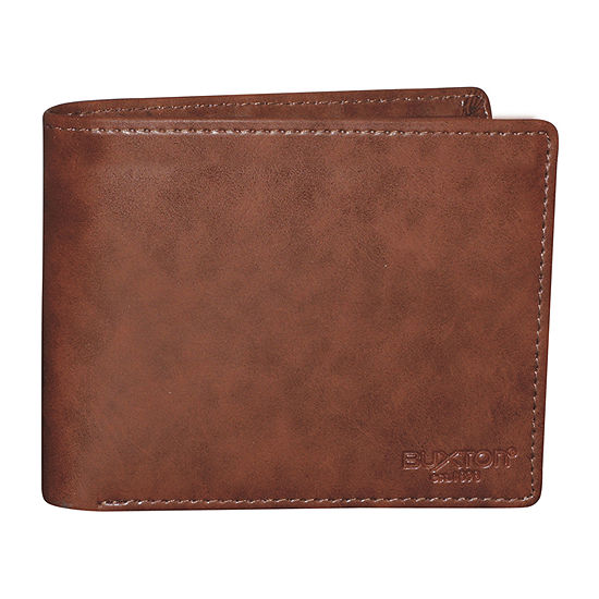 Buxton Rfid Secure Credit Card Billfold Wallet