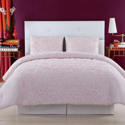 Christian Siriano Pretty Petals 3-pc. Floral Duvet Cover Set