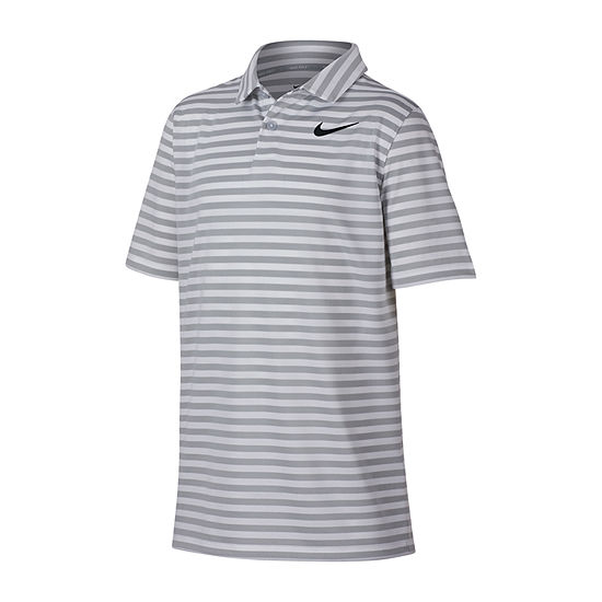 Nike Nike Golf Boys Point Collar Short Sleeve Polo Shirt - Big Kid