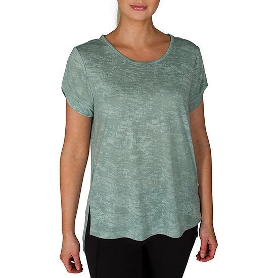 Jacques Moret Jockey-Womens Round Neck Short Sleeve T-Shirt