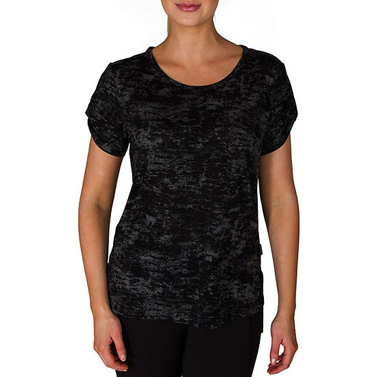 Jacques Moret Jockey Womens Round Neck Short Sleeve T-Shirt
