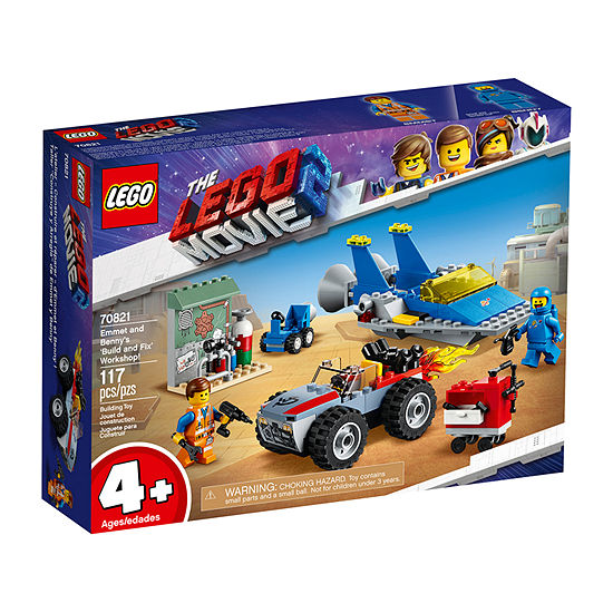 Lego Movie 2 Emmet And Benny'S `Build And Fix' Workshop! 70821