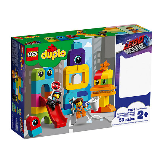 LEGO Movie 2 Emmet and Lucy's Visitors from the DUPLO® Planet 10895