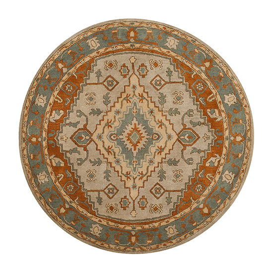 Safavieh Heritage Collection Faris Oriental Round Area Rug