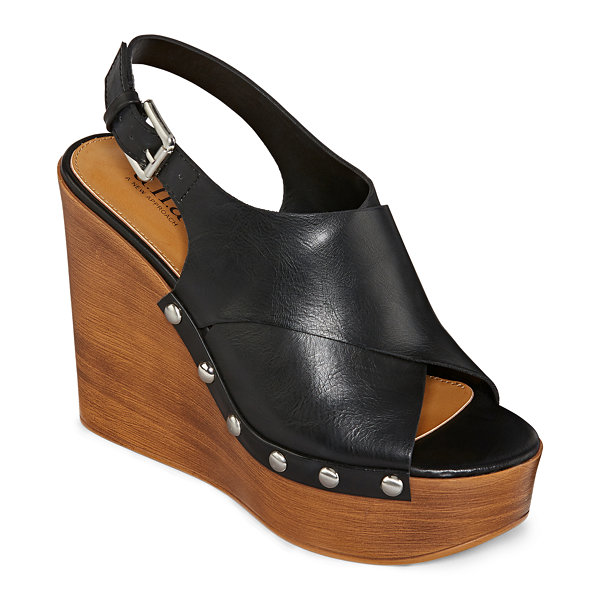 a.n.a Womens Downy Wedge Sandals