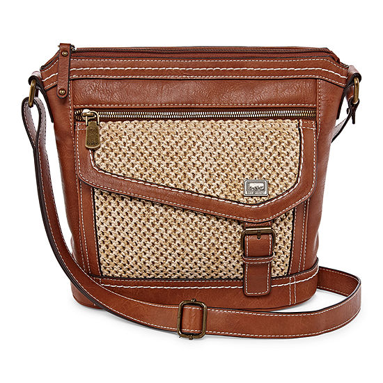Krona Amherst Mesh Crossbody Bag