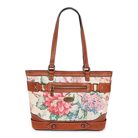 Krona Floral Park Tote Bag