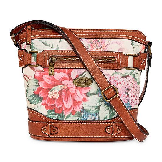 Krona Floral Park Crossbody Bag