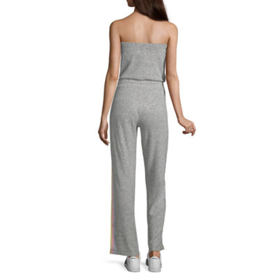Inspired Hearts Sleeveless Jumpsuit-Juniors