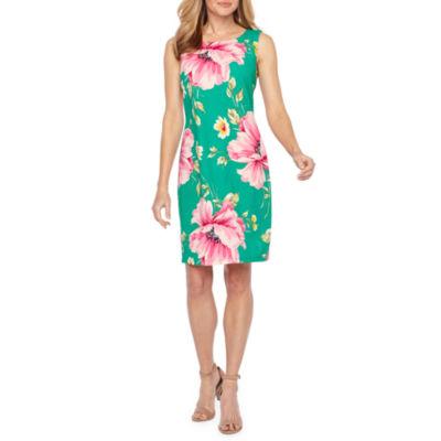 Alyx Sleeveless Floral Sheath Dress
