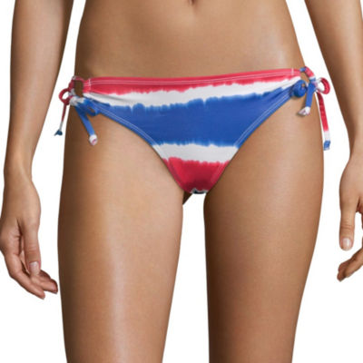 City Streets Tie Dye Hipster Swimsuit Bottom-Juniors