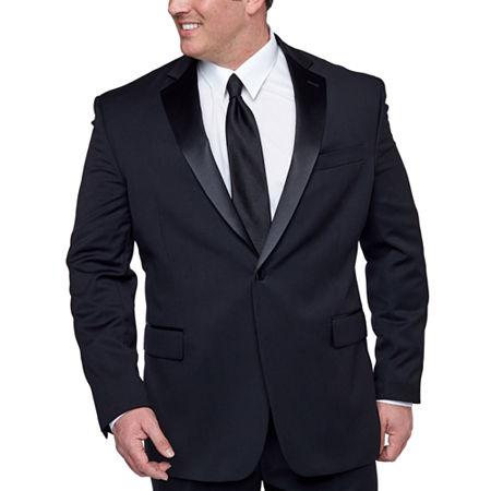 New Vintage Tuxedos, Tailcoats, Morning Suits, Dinner Jackets Stafford Tuxedo Jacket-Big  Tall 56 Big Short Black $115.50 AT vintagedancer.com