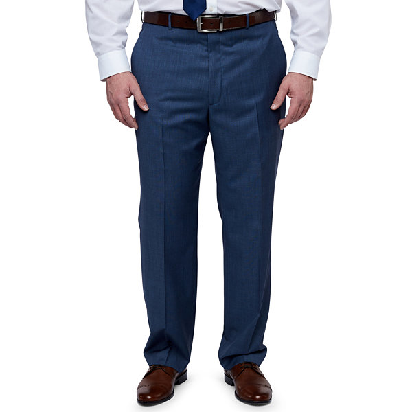 Stafford Executive - Big and Tall Classic Fit Suit Pants