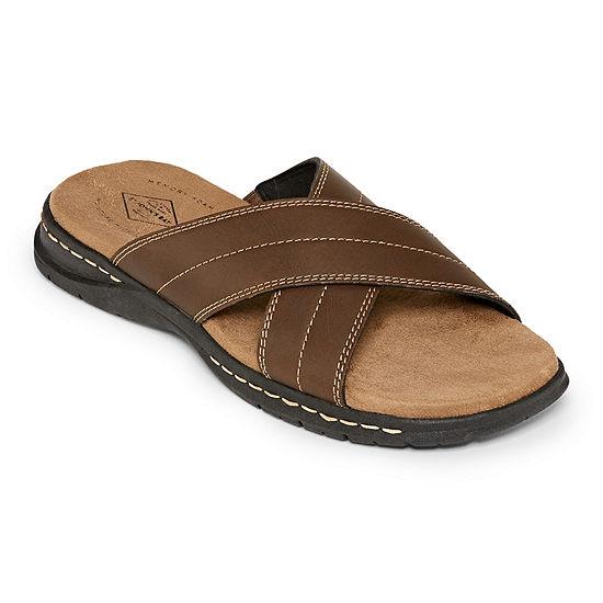 St. John's Bay Mens Cornish Slide Sandals