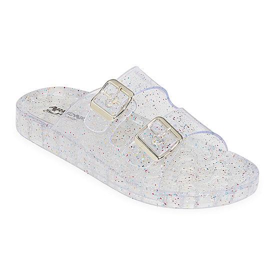 de0cca9fadfa Arizona Womens Jelly Glitter Slide Sandals - JCPenney