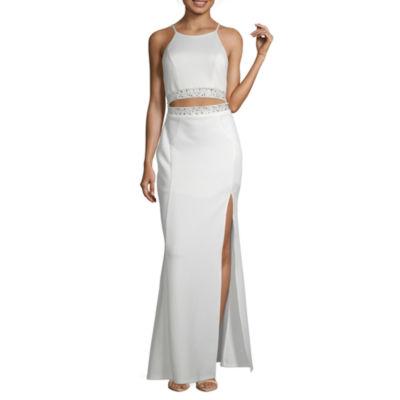 Emarld Sundae Sleeveless Party Dress-Juniors